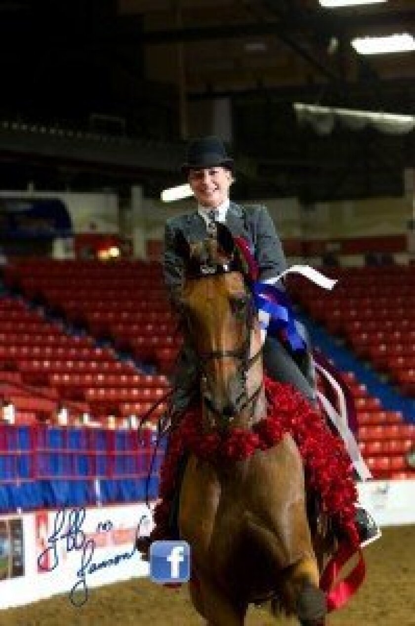 Beth Jupp at the 2013 Canadian Nationals. Courtesy photo