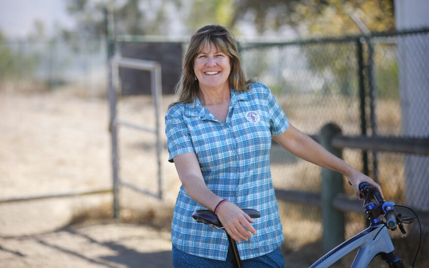 Susie Murphy is the executive director of the San Diego Mountain Bike Association.
