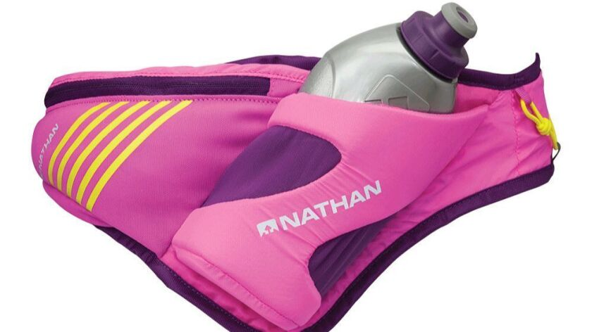?HEADLINE: H2O to Go PRODUCT NAME AND DESCRIPTION: Nathan Peak Hydration Waist Pak. Includes at 18-o