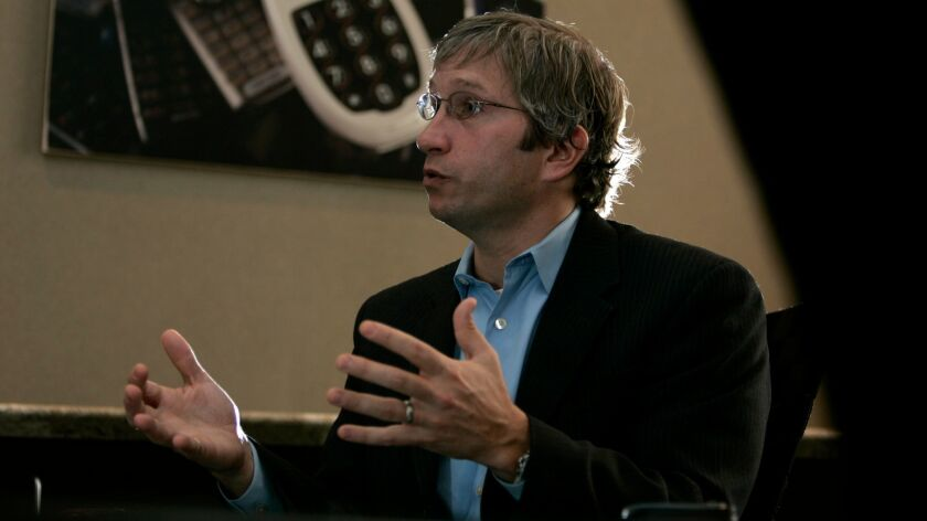 David Inns, CEO of Great Call, shown here in a 2009 file photo.