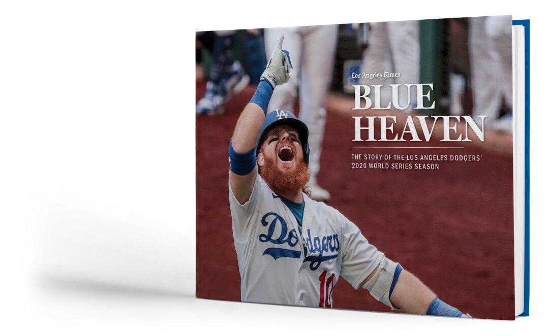 """Blue Heaven,"" a commemorative book celebrating the Dodgers' championship 2020 season"