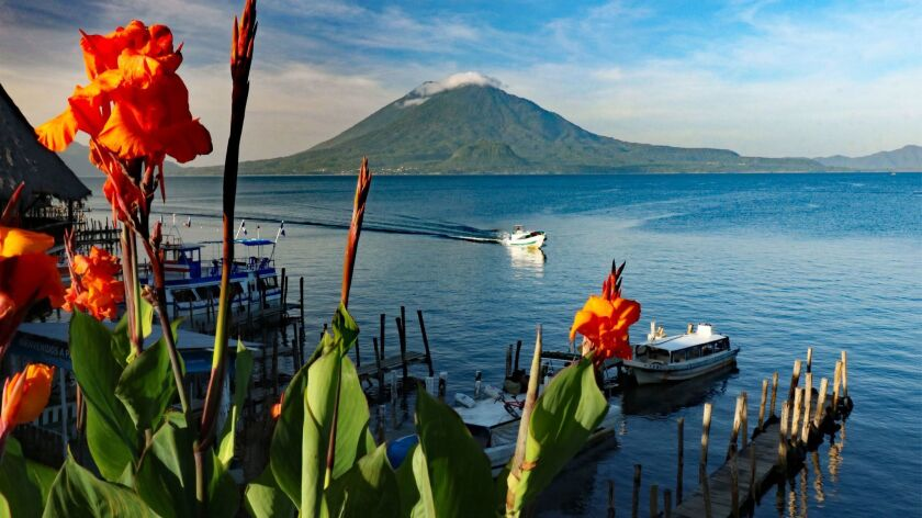 Guatemala's most famous lake is Lake Atitlan. Doug Hansen photo