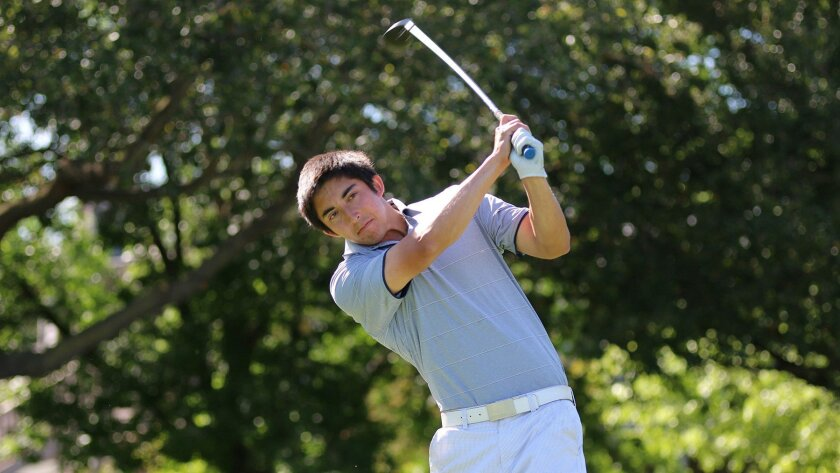 Lewis Simon is the only senior on the UCSD golf team that has been selected for the NCAA Division II regionals.