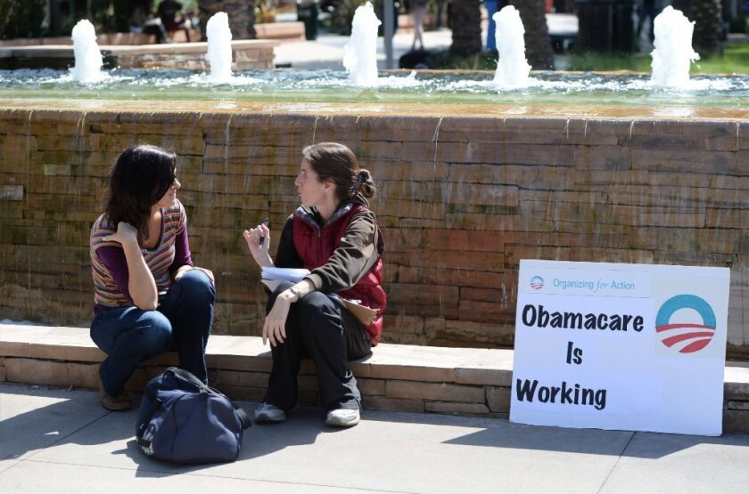 Affordable Care Act sign-up
