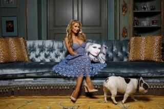 Hot Property   My Favorite Room: Paris Hilton is the central character in her screening room