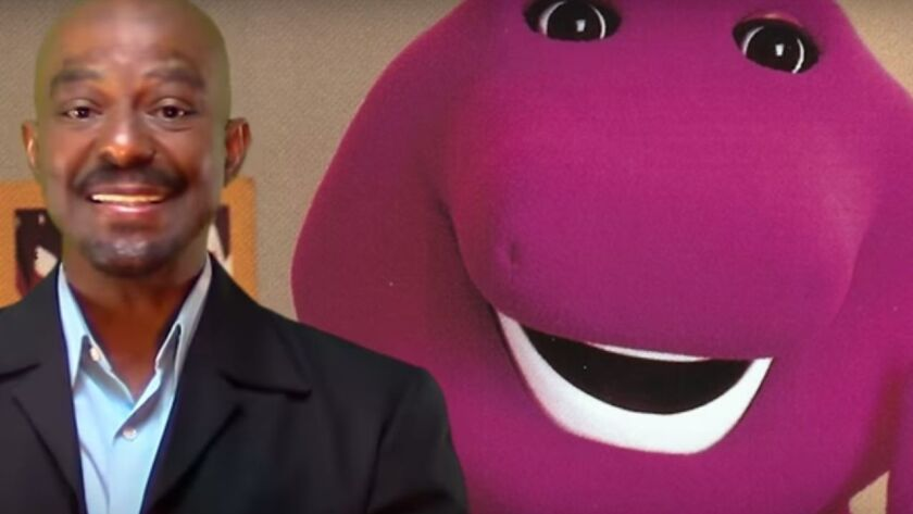 Illinois native who played Barney the dinosaur now a tantric
