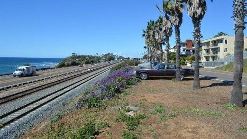 The Cardiff section of the rail trail is planned for San Elijo Avenue. Debate over the rail trail continues, with yesrailtrail.com seeking to counter norailtrail.com.