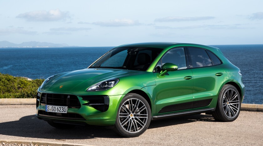 The Macan S starts at $60,750 and its as-tested price was $75,550, including the Mamba Green metallic paint ($700).