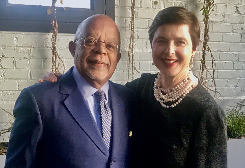 """Henry Louis Gates, Jr. and Isabella Rossellini on """"Finding Your Roots"""""""
