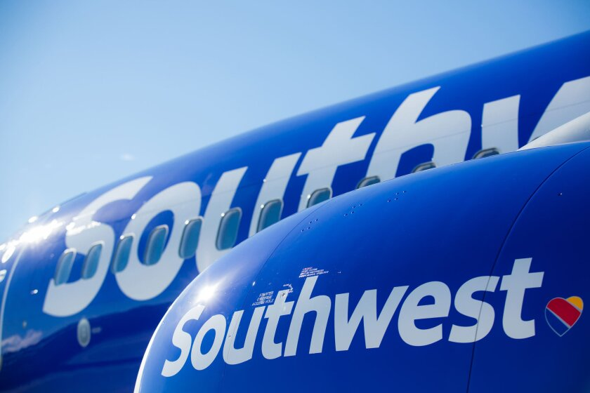 Southwest Airlines passengers were dealing with delays at Los Angeles International Airport due to technical issues.