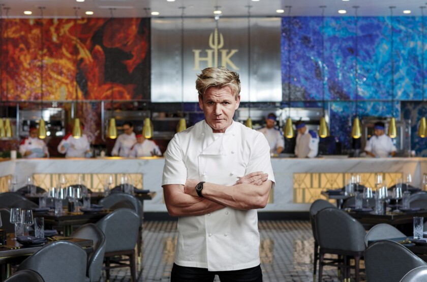 Chef Gordon Ramsay is bringing his Hell's Kitchen restaurant to Harrah's Resort Southern California in Spring 2022.