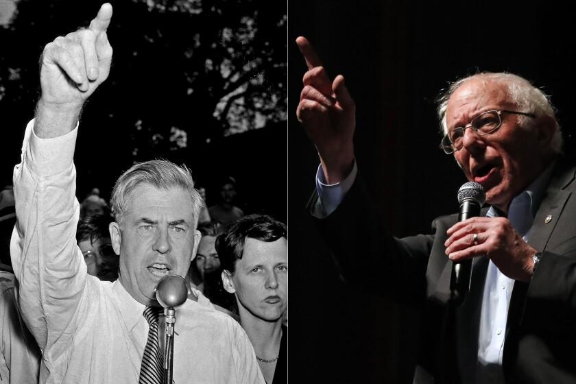 Henry A. Wallace 1948 | Bernie Sanders 2020