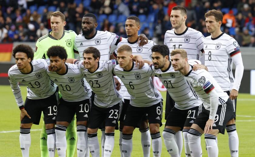 Jugadores de la selección de Alemania