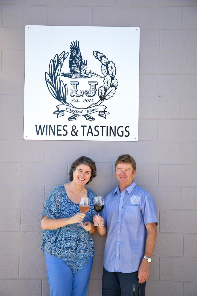 Anne and Lowell Jooste own LJ Crafted Wines in Bird Rock at 5621 La Jolla Blvd. (858) 551-8890. ljcraftedwines.com