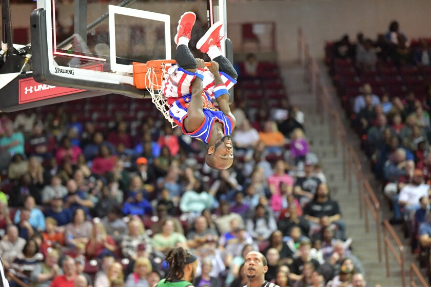 Harlem Globetrotters vs. Washington Generals, Columbia, S.C., 1-12-18