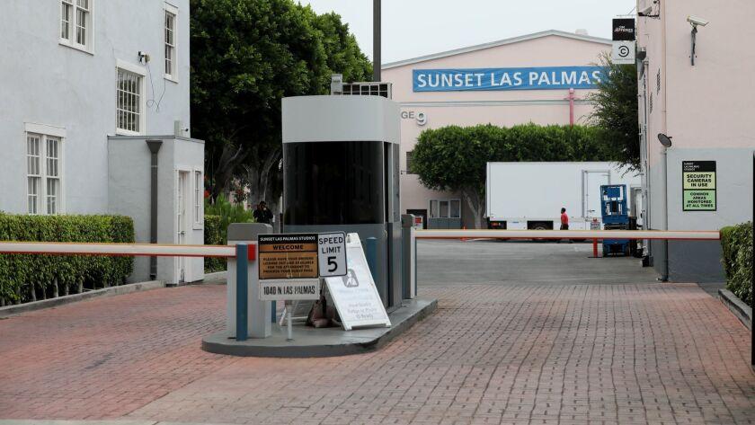 Entrance to Sunset Las Palmas Studio.