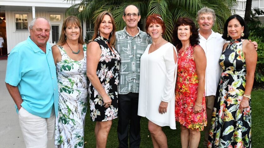 Frank and Kathy Bongiovanni (she's event co-chair), Sherri and Jim Summers (she's event co-chair