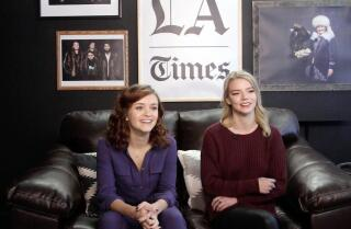 Olivia Cooke and Anya Taylor-Joy of 'Thoroughbred'