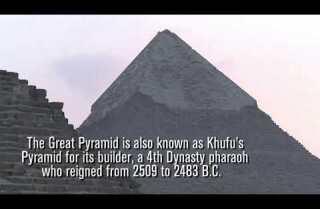 Científicos descubren cámara oculta en la Gran Pirámide de Egipto