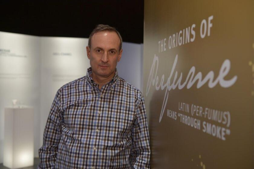 Fragrance expert Chandler Burr curated 'Timeless Scents: 1370 to 2013'