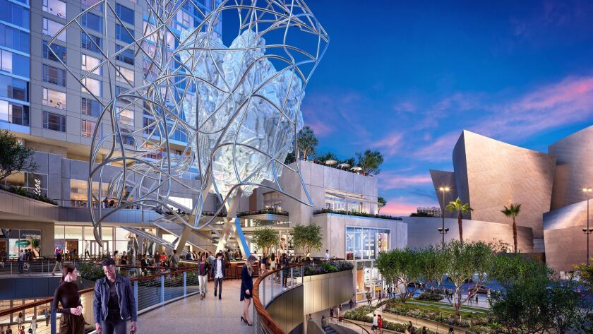 Artist Rendering - More than fifteen years in the making, Frank Gehry and The Related Companies' Th