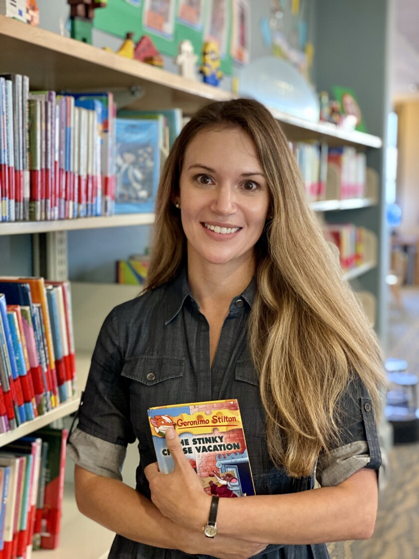 Katia Graham is the new youth services librarian at the La Jolla/Riford Library.