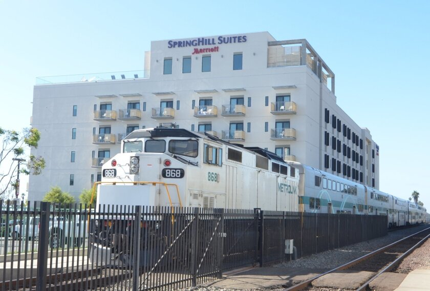 Train noise is one of the top complaints by downtown Oceanside hotel guests. The city is looking to implement a quiet zone to help reduce horn noise.