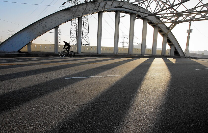 A critical flaw in the concrete is the reason the 6th Street Viaduct is being replaced.