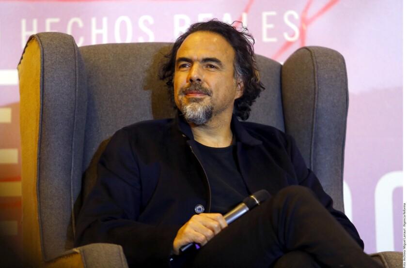 Alejandro González Iñárritu hizo referencia implícita a Donald Trump en la entrega de premios del Sindicato de Directores de Estados Unidos.