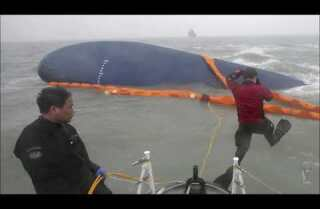 South Korea ferry: Rescued school official found hanged