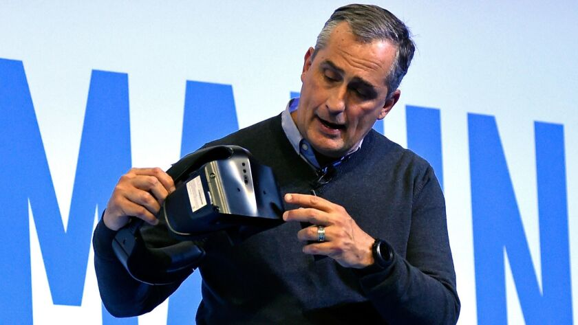 Intel Chief Executive Brian Krzanich is expected to attend Thursday's summit at the White House on artificial intelligence.