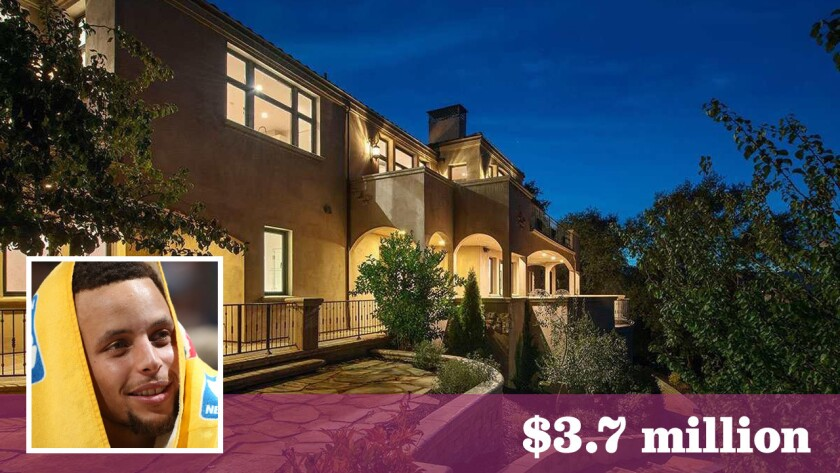 Warriors Star Stephen Curry Seeks 3 7 Million For Bay Area Mansion Los Angeles Times