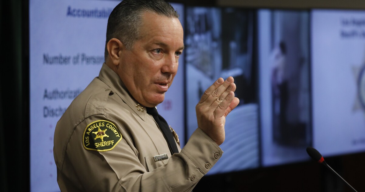 On paper, the deputies are scattered around the Los Angeles County Sheriff's Department in various assignments. One is supposed to be working patrol
