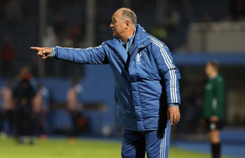 En la imagen, el entrenador de Palmeiras Luiz Felipe Scolari. EFE/Archivo