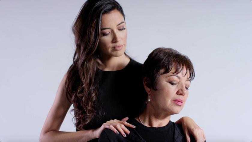 Campoverdi y su madre pelean ante el cáncer de mama.