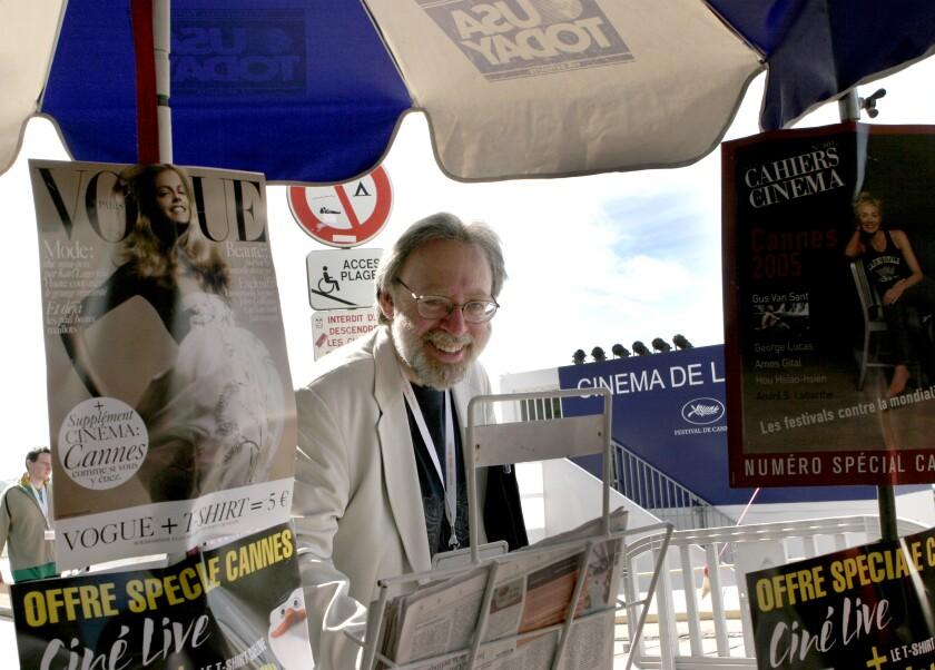 L.A. Times film critic Kenneth Turan