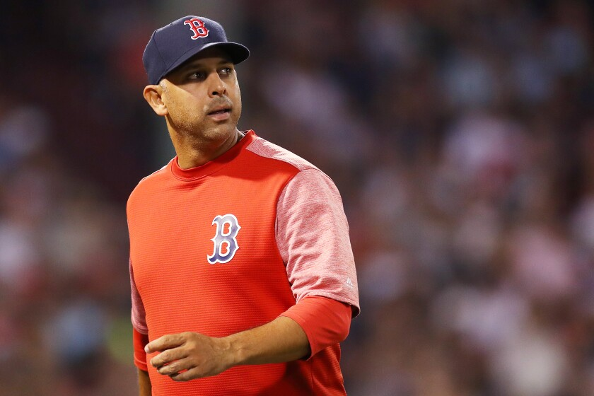 Boston Red Sox manager Alex Cora was fired by the team for his alleged role in the Houston Astros' sign-stealing scandal.