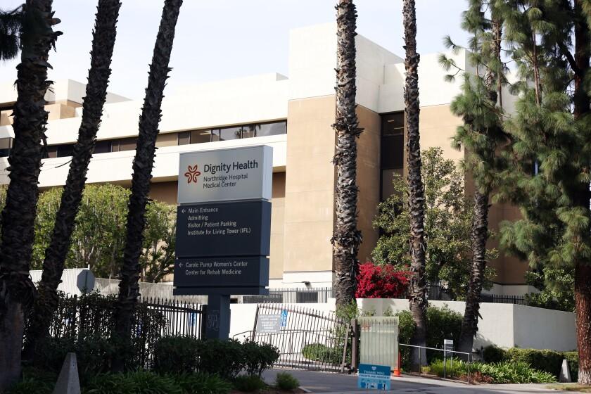 Exterior of the Northridge Medical Center