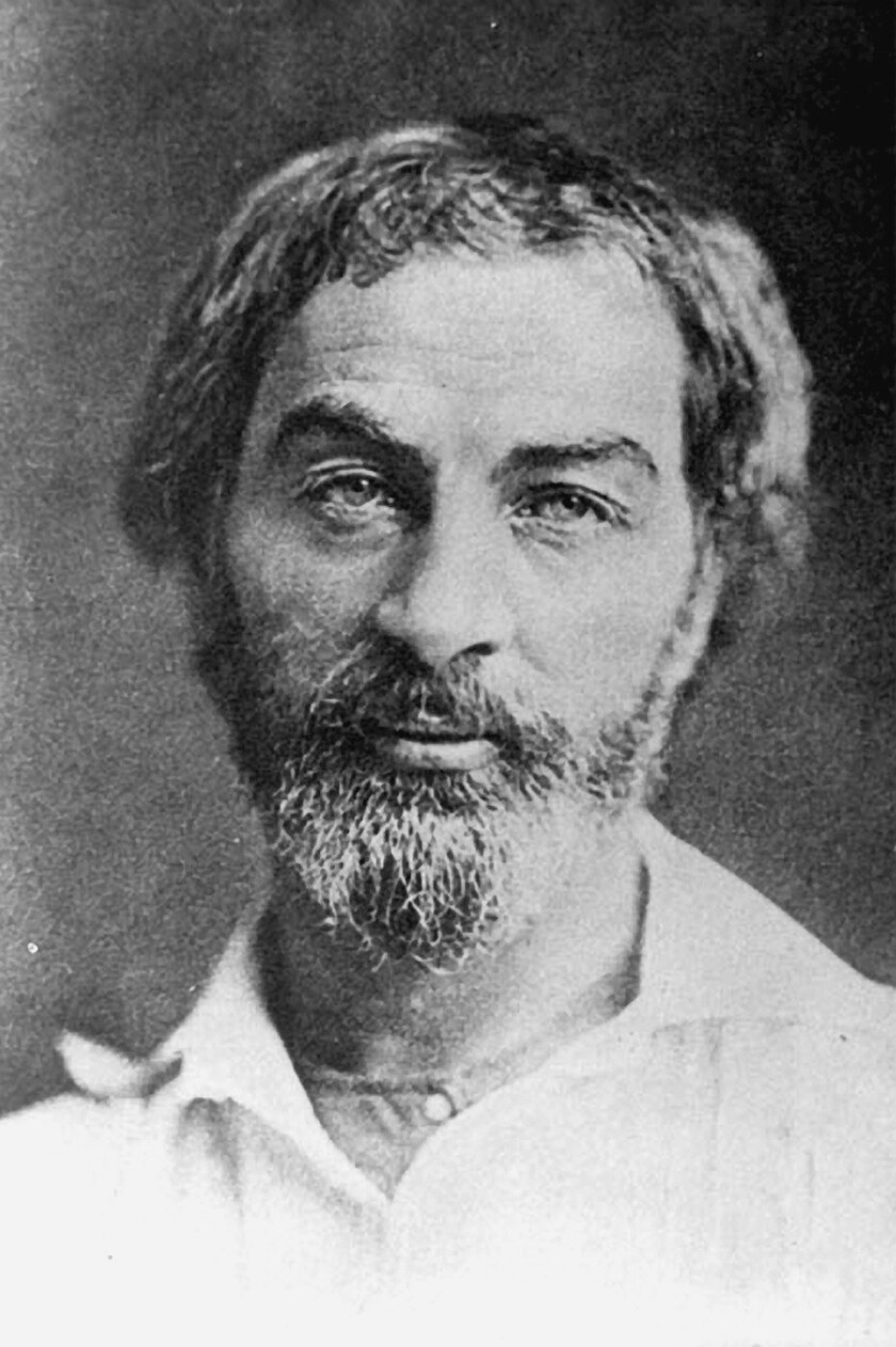 """Walt Whitman, the subject (along with author Mark Doty) of """"What Is the Grass?"""""""