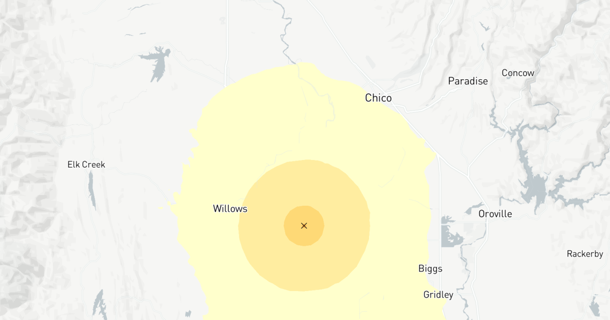 Earthquake: Magnitude 3.9 quake strikes near Chico, Calif.
