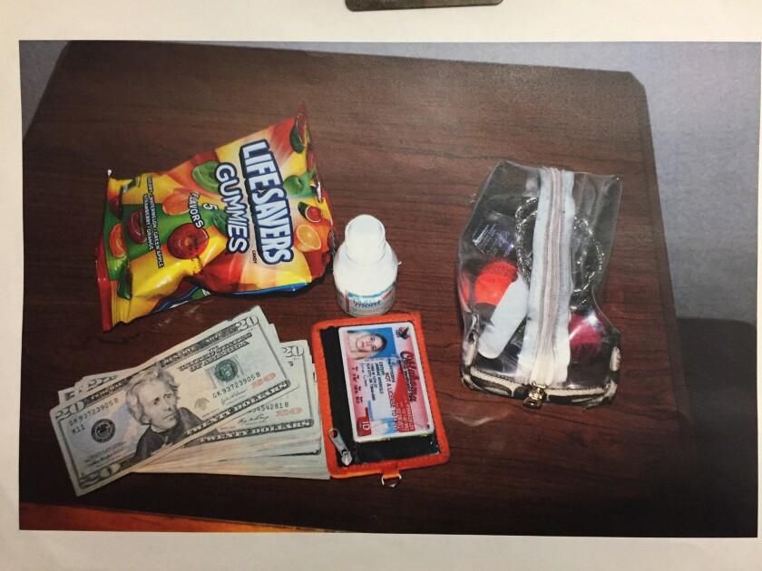 Jarrae Estepp's belongings