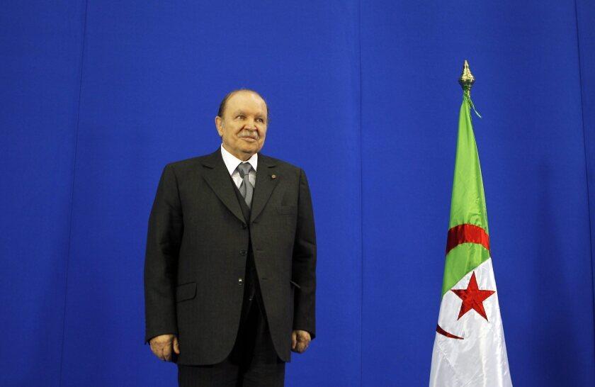 Ailing Algerian President Abdelaziz Bouteflika to seek fourth term