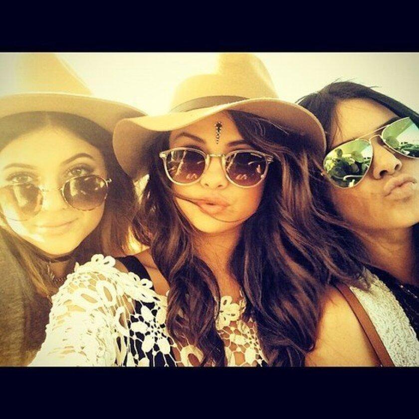 Selena Gomez at Coachella 2014
