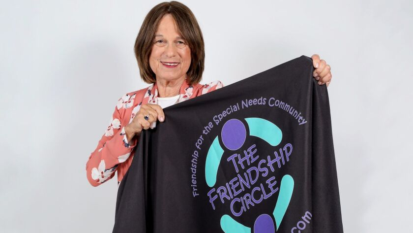 Portrait of Elisheva Green, the Executive Director of The Friendship Circle.