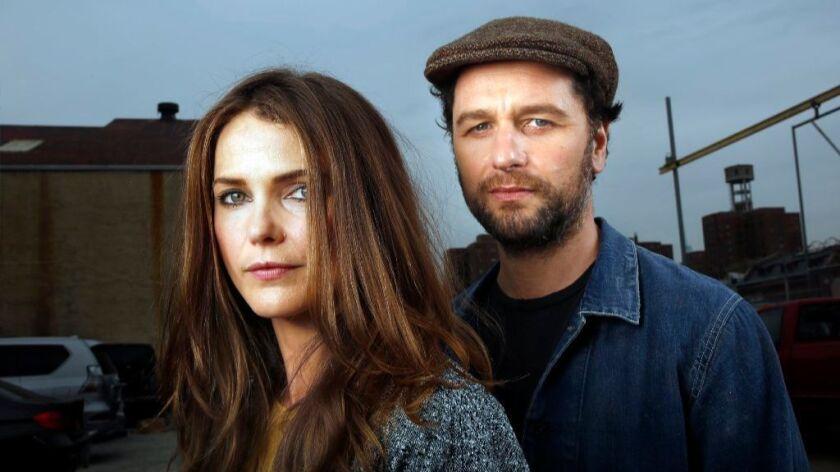The chemistry between Keri Russell and Matthew Rhys shines through in their roles as Russian spies l