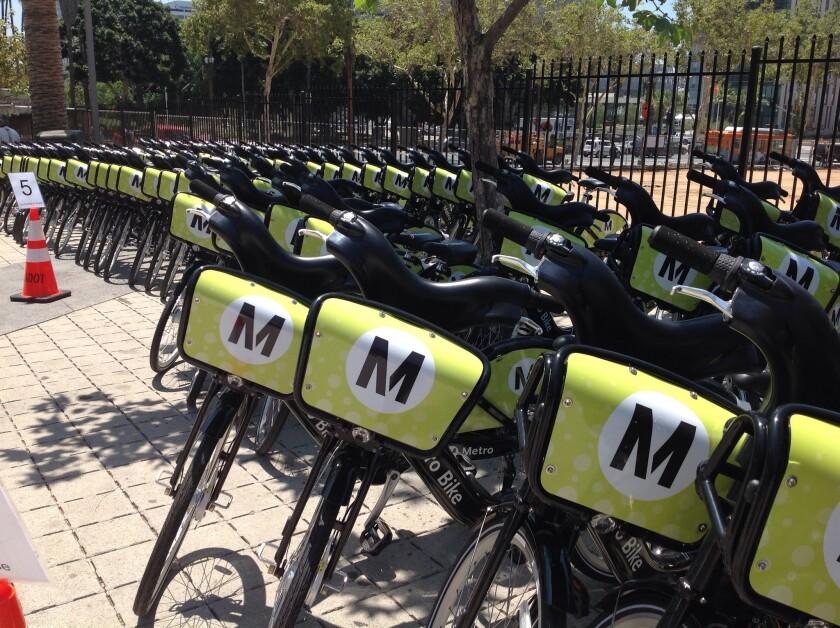 Bicicletas para compartir de Metro