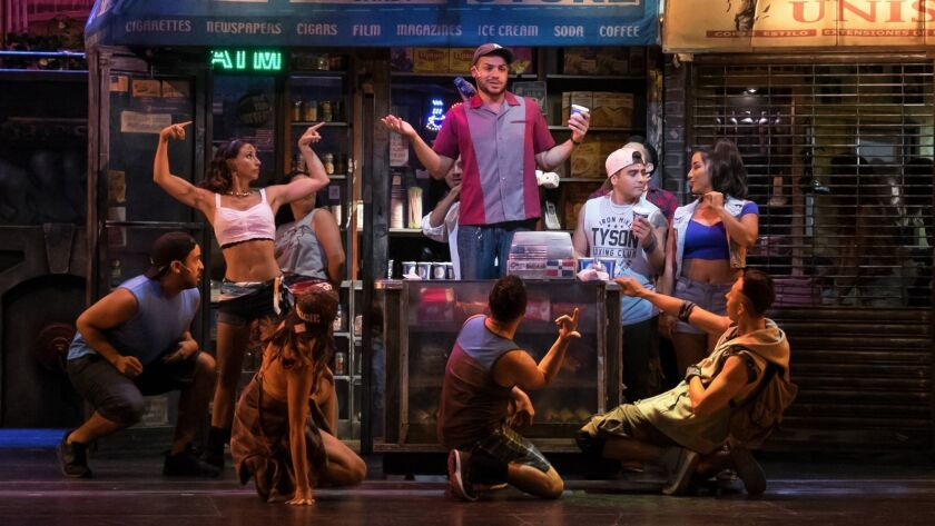 """""""In the Heights"""" at Moonlight Amphitheatre"""