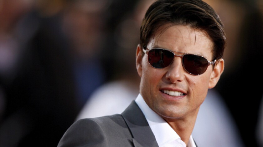 STAR: Tom Cruise also has a side career as a studio mogul.