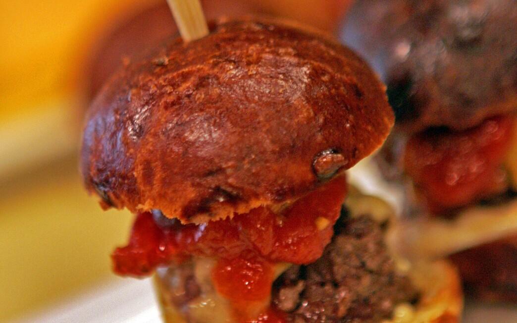 Stonehill Tavern Kobe burger