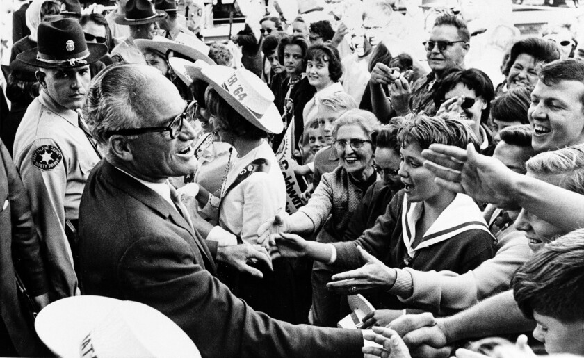 In the wake of Barry Goldwater's defeat in the 1964 presidential election, conservative leaders founded the American Conservative Union to make right-wing politics more palatable and popular.